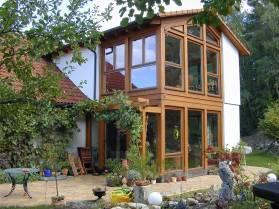Holzbau h bner holz da kennen wir uns aus - Anbau oder wintergarten ...